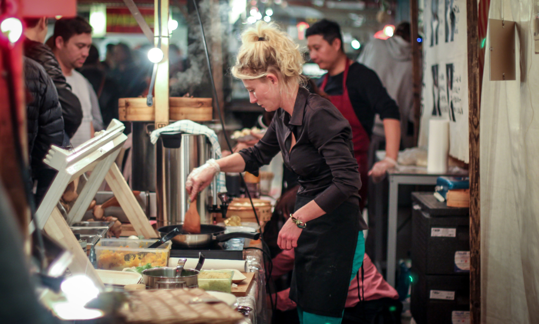 MikroKosmos Berlin, edible insects, street food, markets